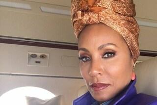 """Jada Pinkett Smith soffre di alopecia: """"Ecco perché indosso sempre il turbante"""""""