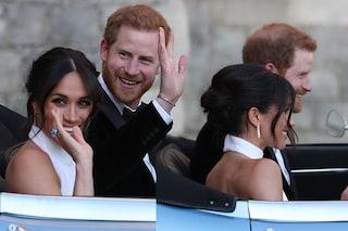 Acconciatura da Royal Wedding: lo chignon spettinato a regola d'arte di Meghan è già tendenza
