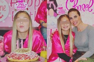 Ilary con Chanel Totti : il Baby Spa party per l'11esimo compleanno