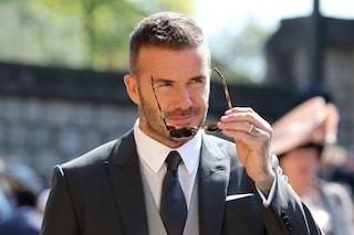 Tutte pazze per David Beckham: è lui il più bello del Royal Wedding