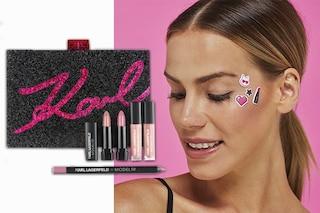 Karl Lagerfeld firma la prima collezione make up: ecco dove trovarla e quanto costa