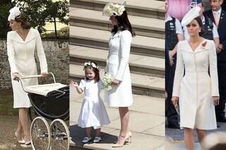 Kate Middleton, abito riciclato per il matrimonio di Harry e Meghan