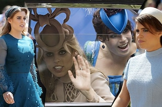 "Dopo i ""cappelli strani"", Eugenie e Beatrice di York scelgono look sobri al Royal Wedding"