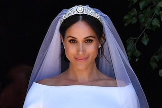 Meghan Markle, sposa radiosa con uno smokey eyes glamour: i dettagli sul make up del Royal Wedding
