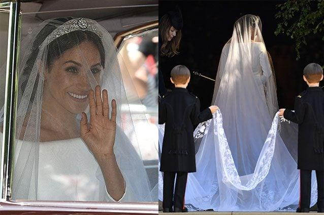 L abito da sposa di Meghan Markle  semplicità ed eleganza regnano 076a358f59e2