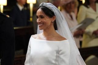 Meghan Markle due volte in bianco: ecco l'abito da sposa del suo primo matrimonio