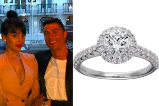Cristiano Ronaldo sposerà Georgina: ecco l'anello di fidanzamento da 700mila euro