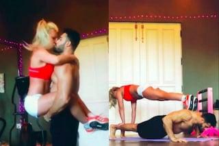 Britney Spears in forma con gli esercizi di coppia, ecco come si tiene in forma