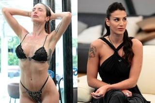 Mariana ha una farfalla sull'inguine, Patrizia un'ancora: i tatuaggi delle donne del GF