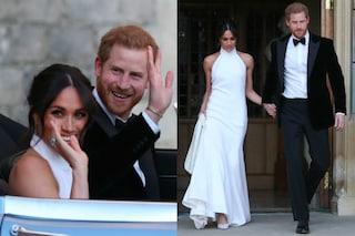 Il secondo abito per il matrimonio di Meghan Markle e l'omaggio della sposa a Lady D.