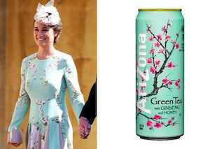 Pippa Middleton come una lattina di tè: l'ironia sul look per il Royal Wedding