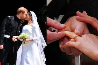 Oro gallese per Meghan, una fascia di platino per Harry: le fedi nuziali del Royal Wedding