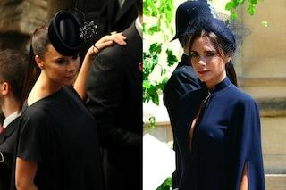 L'errore di stile di Victoria Beckham: al Royal Wedding con abito scuro (ancora)