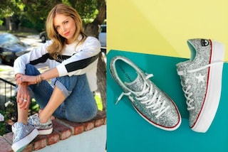 Converse glitter: i nuovi modelli firmati Chiara Ferragni