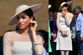 """Meghan Markle principessa perfetta: look """"regale"""" per il compleanno di Carlo dopo le nozze"""
