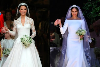 Meghan Markle Vs. Kate Middleton: i look da sposa a confronto