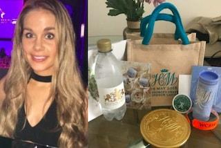 Vende la Royal Wedding Bag ricevuta alle nozze di Harry e Meghan, guadagna 25mila euro