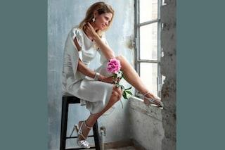 Filippa Lagerback in bianco: così si prepara al matrimonio con Daniele Bossari