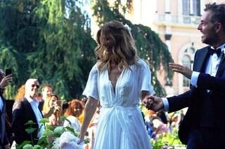 Filippa Lagerback sposa chic: l'abito per il matrimonio con Daniele Bossari
