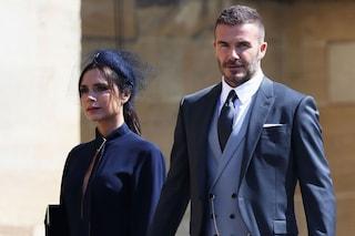 David e Victoria Beckham vendono gli abiti indossati al Royal Wedding