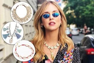 Il ritorno dei gioielli con le conchiglie: collane, orecchini e cavigliere per l'estate 2018