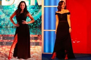 Tutte in nero ma le scarpe sono rosse: i look delle finaliste del Grande Fratello