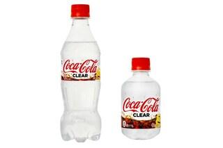 Arriva la Coca-Cola trasparente: non contiene zuccheri e coloranti aggiunti