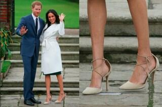 Ecco perché Meghan Markle indossa sempre scarpe troppo grandi