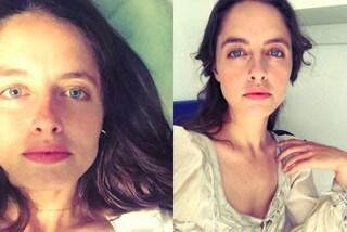 Matilde Gioli senza trucco sui social: l'attrice italiana è bellissima anche al naturale
