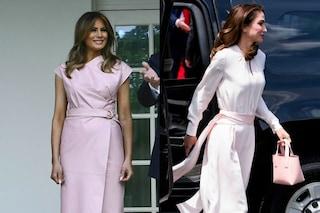 """Melania Trump Vs. Rania di Giordania: sfida di stile """"in rosa"""" alla Casa Bianca"""