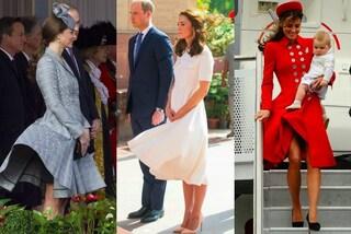 "Arriva il vento e la gonna va su: Kate Middleton e gli upskirt ""mancati"""