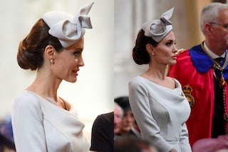 Angelina Jolie elegantissima in ghiaccio: fa concorrenza alle donne della Royal Family