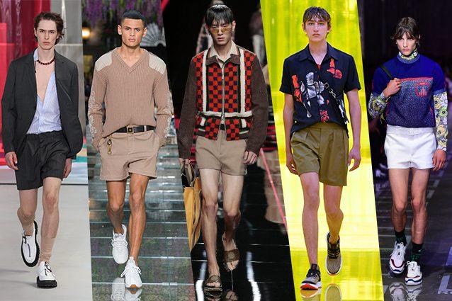 da sinistra N.21, Versace, Fendi, Neil Barrett, Prada