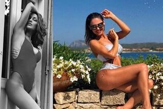 """""""Volevo una foto figa, arriva una secchiata"""": Anna Tatangelo tra pose e costumi hot"""