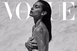 Bella Hadid in topless in copertina: è più sexy lei o la sorella Gigi?