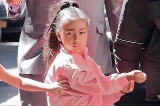 North West: a 5 anni la figlia di Kim Kardashian debutta come modella