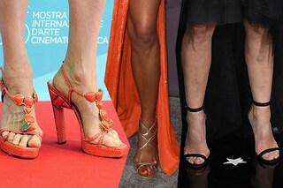 Difetti da star: dalla Hunziker a Naomi i piedi malandati delle celebrities