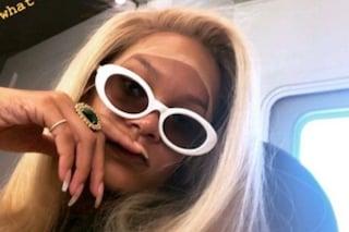 Rihanna cambia look: la foto con i capelli biondi