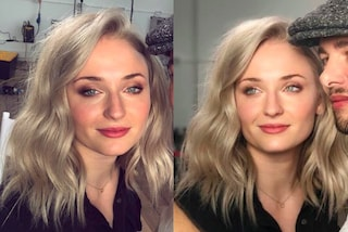 "Sophie Turner con i capelli corti e biondi: cambia look per la fine di ""Game of Thrones"""