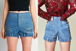 """Gli shorts di jeans vengono """"capovolti"""": è la nuova tendenza per l'estate 2018?"""