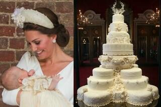 Una torta di 7 anni fa per il battesimo del principe Louis: l'insolita tradizione reale