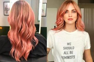 Chiara Ferragni cambia look per l'addio al nubilato: è passata ai capelli rosa