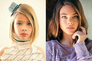 Le bambine più belle del mondo ieri e oggi: ecco come sono diventate