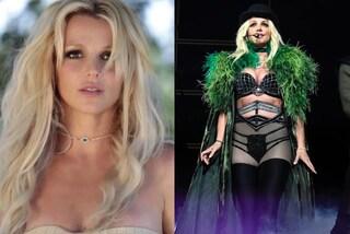 L'incidente hot di Britney Spears: il reggiseno è troppo stretto e rivela il capezzolo