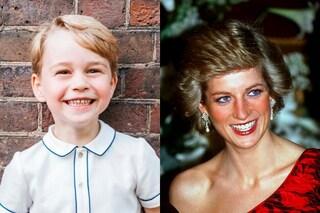 Il piccolo George bello come Lady Diana: il bimbo ha lo stesso sorriso della principessa