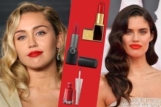 Trucco labbra rosse: un rossetto per 5 look