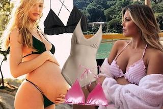 I bikini delle mamme Vip in dolce attesa (e come copiare il look)