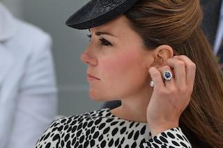 La vera storia dell'anello di Kate Middleton appartenuto alla principessa Diana