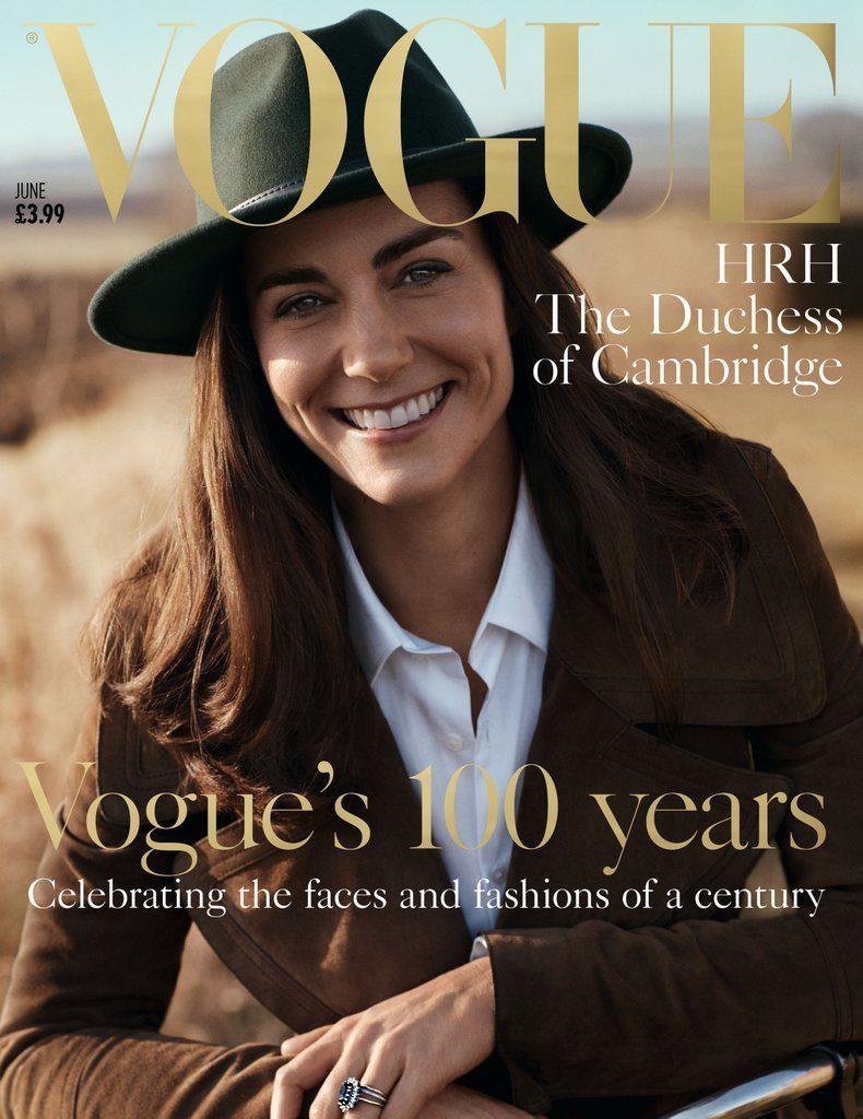 Kate Middleton sulla copertina per il centenario di British Vogue