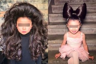 Mia, a 5 anni diventa una star grazie agli splendidi capelli: ha un parrucchiere personale